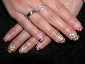 Nail-art nagel